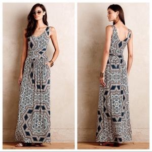 Anthroplogie Jantina Maxi Dress